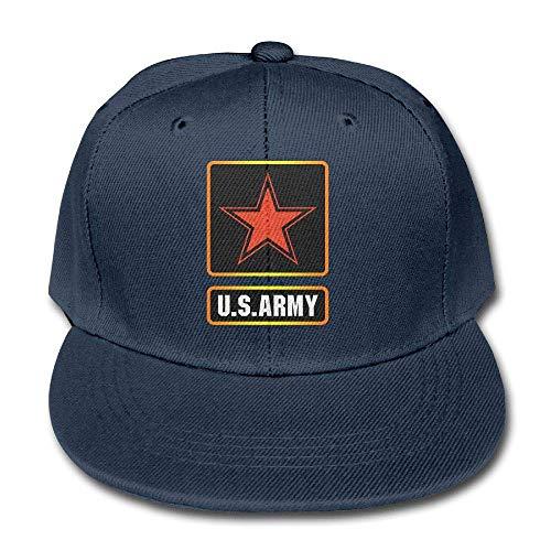 Sireua Kid's Us Army Star Cotton Lightweight Breathable Baseball Cap Adjustable Peaked Hat Snapback Trucker Hat Basecap Snapback Outdoor Baseball Kappe