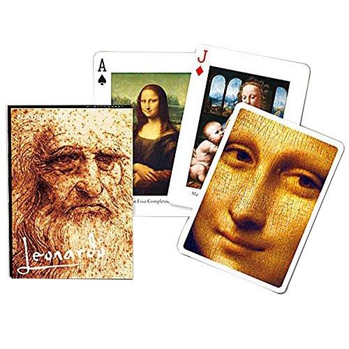 """Piatnik 1657 - Kartenspiel """"Leonardo da Vinci"""", 55 Blatt Preisvergleich"""