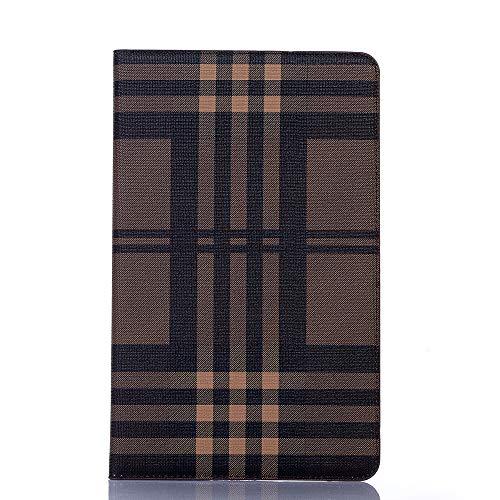 TechCode Galaxy T510 Stand Case 10.1, Premium PU Leder Flip Wallet Stand Cover Kartenfächer Shell Folio Gehäuse Multi-Angle View Schutzhülle für Samsung Galaxy Tab A 10.1 SM-T510 / T515 (GZ-Braun) Samsung Rugby