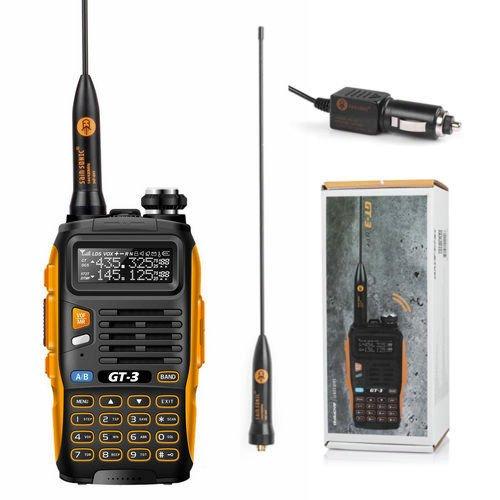 BaoFeng GT-3 UHF / VHF Dual Band Two-way Radio Ricetrasmittente