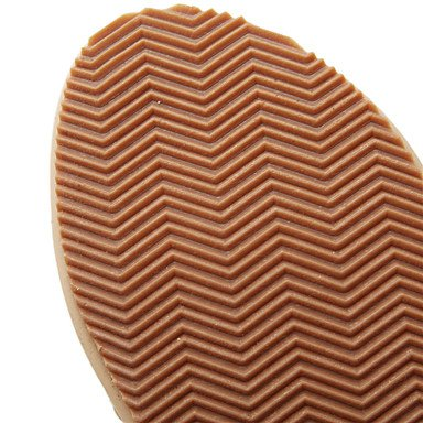 LvYuan Sandali-Ufficio e lavoro Formale Casual-Comoda Club Shoes-Zeppa-PU (Poliuretano)-Blu Viola Tessuto almond almond