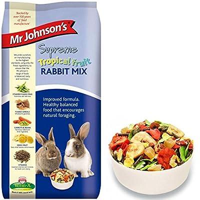 Leeway Woodwork 500g Mr Johnson's Tropical Rabbit Food from LEEWAY WOODWORK