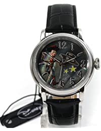 Disney Uhr Damenuhr Automatikuhr Toy Story Woody Lederband Sammleruhr