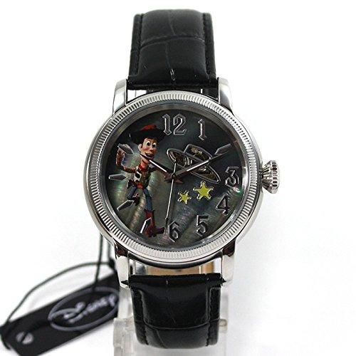 Disney-Orologio donna Orologio automatico Toy Story Woody orologio cinturino in pelle collezionisti