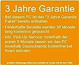 Flüster-PC AMD Quad-Core Office/Multimedia shinobee PC Computer mit 3 Jahren Garantie! inkl. Windows10 Professional - AMD Quad Core 4x1.50 GHz, 4GB RAM, 500GB HDD, AMD Radeon HD 8330, USB 3.0, DisplayPort, HDMI, Microsoft Office 2010 Starter #4949 für Flüster-PC AMD Quad-Core Office/Multimedia shinobee PC Computer mit 3 Jahren Garantie! inkl. Windows10 Professional - AMD Quad Core 4x1.50 GHz, 4GB RAM, 500GB HDD, AMD Radeon HD 8330, USB 3.0, DisplayPort, HDMI, Microsoft Office 2010 Starter #4949