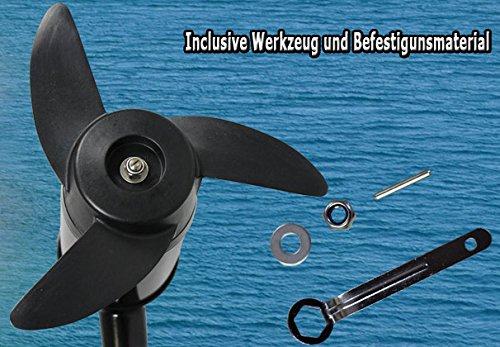 Miganeo Ersatzpropeller Schraube für Elektrormotor Schlauchboot 3-flügelig NRS 55 & NRS 62 -