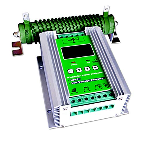 Regolatore di carica solare della turbina di vento di 500W MPPT regolatore di carica solare di 300W regolatore di carica solare 200W 12V / 24V regolatore ibrido dell'auto di spinta con carico di scari