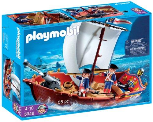 Playmobil - 5948 - Bateau des Soldats