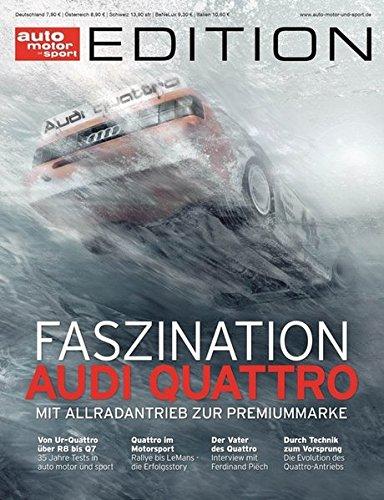 auto motor und sport Edition - Audi Quattro - 35 Jahre (Auto-motoren)