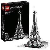 LEGO Architecture Torre Eiffel Costruzioni Piccole Gioco Bambina Giocattolo, Multicolore, 5702014973206