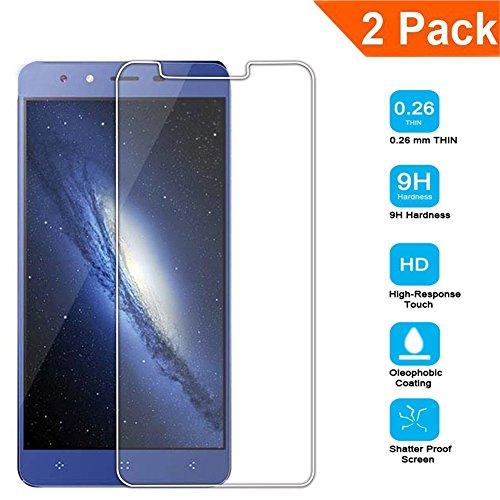 Galleria fotografica [2-Pack] Vetro Temperato per Elephone P8 mini, Schermo HD Protector 9H Durezza