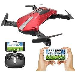 EACHINE E52 WiFi FPV RC Cuadricóptero Drone y cámara 2.4G 6-Axis Headless Mode Remote Control Toys Micro Nano Quadcopter RTF Modo 2