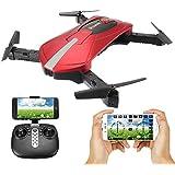 EACHINE E52 WiFi FPV RC Cuadricóptero Drone y 2MP HD cámara 2.4G 6-Axis Headless Mode Remote Control Toys Micro Nano Quadcopter RTF Modo 2