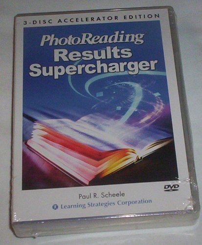 Photoreading Results Supercharger 3-disc Dvd Accelerator Edition Paul Scheele