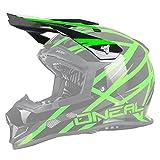 O'Neal Ersatzvisier 2Series Evo MX Helm Ersatzteil Ersatzschirm Motocross Thunderstruck Enduro, 0200SP, Farbe Grün