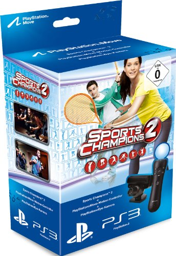 Sports Champions 2 Move-Bundle (Move) (Playstation Move 3 Bundle)