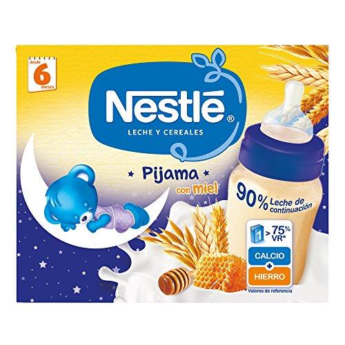 Nestlé Leche Cereales Miel Pijama - 2 unidades 250