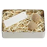 4you Design Bäumchen-Pflanz-Set zur Geburt - Fichtensaatkugeln - Geschenk zur Geburt/Taufe - Geschenkidee - 2