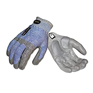 Ansell ActivArmr 97-004 Multipurpose Mason Gloves, Knitwrist Cuff, Large (1 Pair)