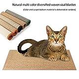 Multifunzionale Pet Scratching pastiglie pieghevoli Cat scratch tappeto in sisal canapa tappetino per proteggere mobili