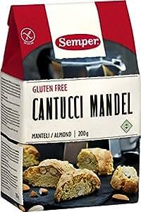 Semper GF Cantucci Almond 200 g (Pack of 2)