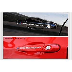 D477 4 st/ück T/ürgriffe auto aufkleber Abziehbild Plakette Schriftzug Car Motorrad Sticker schwarz