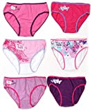 Disney Violetta 3er Pack Slips Pants in Geschenkbox Mädchen (un742) (122-128 (7-8 Jahre))