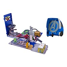 IMC Toys - 390171AV1 - Camion - quartier generale 2 in uno Spiderman