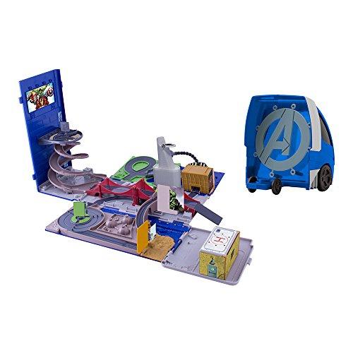 IMC Toys - 390171 AV1 - Camion - Quartier Général 2 en Un Spiderman