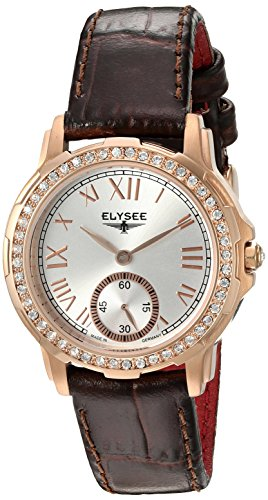 ELYSEE Women's 22005 Ladies-Edition Analog Display Quartz Brown Watch