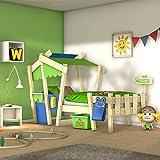 WICKEY Letto per bambini CrAzY Candy Letto da gioco 90x200cm con rete...