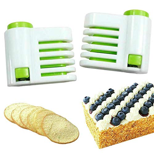 Fixator DIY Küchenwerkzeug Even-Cake Slicing Leveler 5 Layer Slicer ()