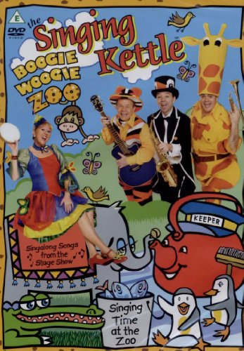 The Singing Kettle Boogie Woogie Zoo [DVD] [UK Import]