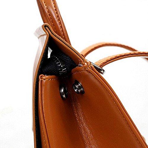 Z&YF zaino Pacchetto di svago Zaino femminile Borsa da viaggio Borsa delle signore zaino Borse a tracolla borsetta Borsa di pelle , yellow Yellow