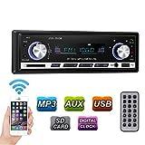 GHB Poste Radio Voiture Autoradio Poste Radio USB Voiture Bluetooth SD MM AUX MP3 MP4 MP5 Téléphone FM Stéréo HI-FI l'amplificateur IC TDA7388