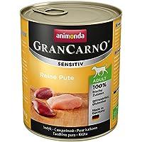 Animonda GranCarno Hundefutter Sensitive Adult Reine Pute, 6er Pack (6 x 800 g)