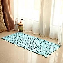 LIUXINDA-DT Baños, baño cuarto de baño, WC, Cuarto de baño, Cuarto de baño, Cuarto de baño, Cuarto de baño, alfombra impermeable 40 * 88cm,Azul