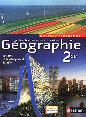Géographie 2de - J.-L. Mathieu