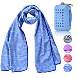 Best Cooling Towels - LLUTNY Cooling Towel, Ice Towel, Microfibre Towel, For Review