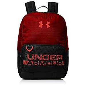 Under Armour, Boys Armour Select Backpack, Zaino, Bambino, Rosso (Rapture Red/Black/Neon Coral 620), Taglia unica