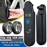 mycs nuevo LCD digital Neumático Aire Manómetro de presión PSI Tester Herramienta para coche y motocicleta