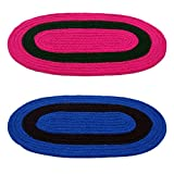 #10: Story@Home Handicraft Style Eco Series 2 Piece Cotton Blend Door Mat Set - 16