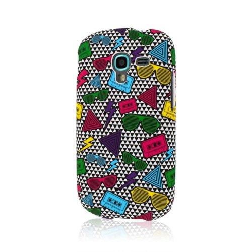 MPERO SNAPZ Serie Case Custodia Custodia per Samsung Galaxy Exhibit T599 - Neon 90's