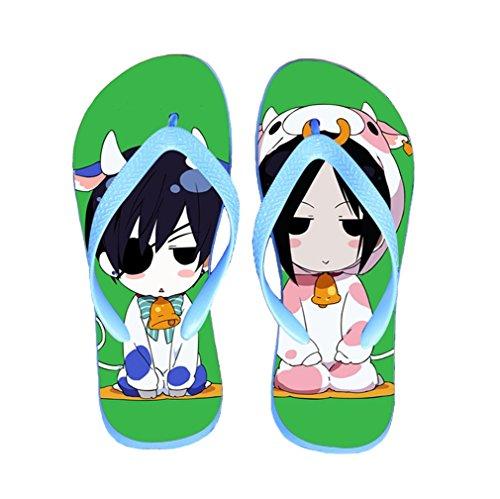 Bromeo Black Butler Anime Unisexe Flip Flops Tongs 66