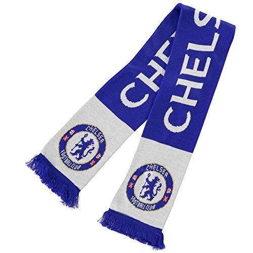 Team Schal Fussball Fanschal Fan Warm Halstuch Emblem Chelsea 0 -