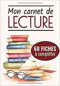 Amazon.fr - Mon Carnet de Lecture: Cahier de Bord de ...