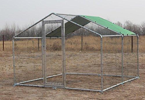 Parc grillagé aluminium 4x4x2.25m