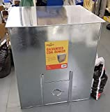 820 x 680 x 900 5CWT Coal Bunker - Large GALVANISED Metal Steel Rust Proof