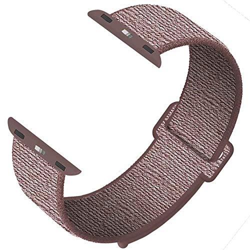 SYOSIN für Apple Watch Armband 38mm 40mm 42mm 44mm,Gewobenes Nylon Sport Schlaufe Handgelenk Uhrband Ersatz Armreif Uhrenarmband für iWatch Apple Watch Series 4 3 2 1