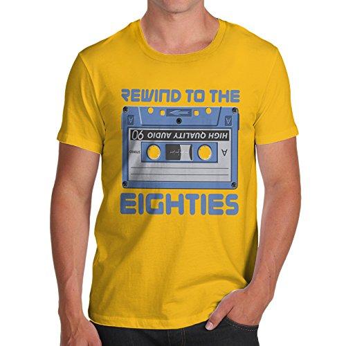 Herren-T-Shirt aus Baumwolle von Twisted Envy mit Aufdruck